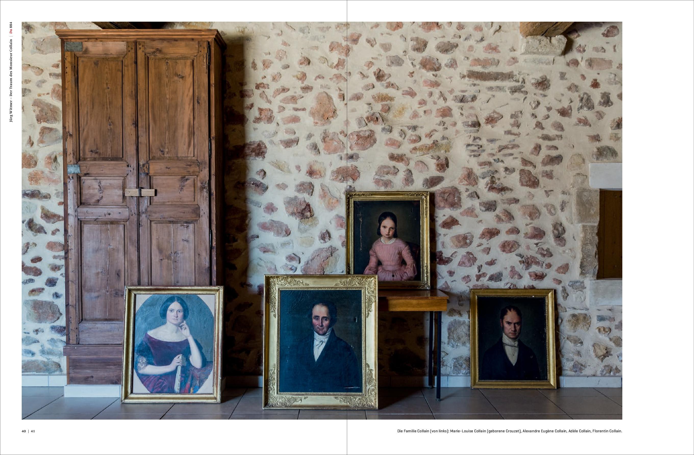 Des tableaux de la famille Collain