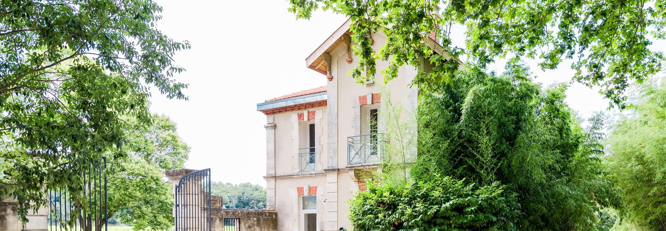 Das Ferienhaus La Maison im Château de Montcaud