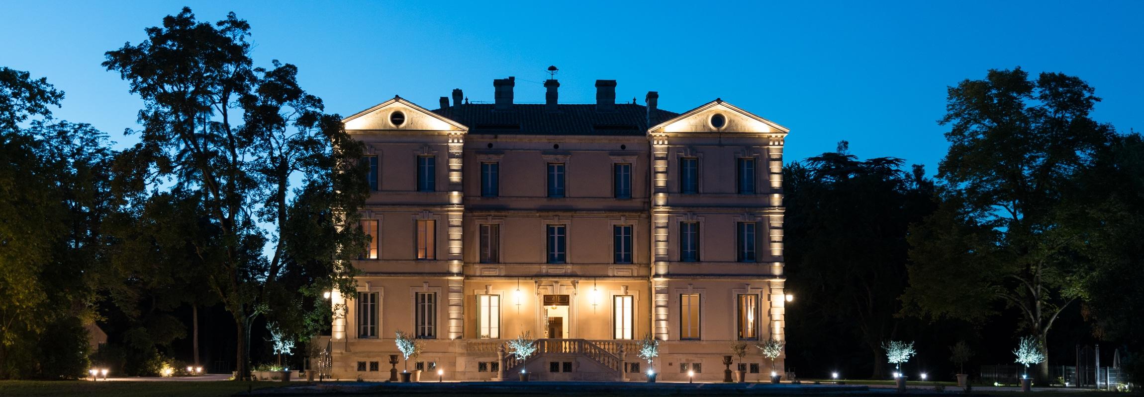Weihnachten Château de Montcaud, Hotel Provence Südfrankreich